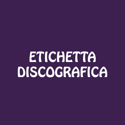 Etichetta Discografica - EM Music